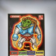 Collectionnisme Cartes à collectionner anciennes: BOLLYCAO - KAOS THE GAME - XTRATANK Nº22. Lote 173864934