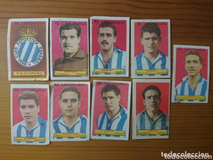 LOTE 9 CROMOS ESPAÑOL CONDIMENTOS EL LEGIONARIO Y LOS NOVIOS 1953-1954 SIN PEGAR (Coleccionismo - Cromos y Álbumes - Cromos Antiguos)