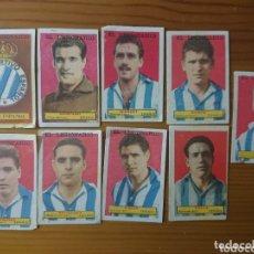 Coleccionismo Cromos antiguos: LOTE 9 CROMOS ESPAÑOL CONDIMENTOS EL LEGIONARIO Y LOS NOVIOS 1953-1954 SIN PEGAR. Lote 174047890