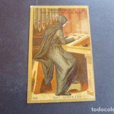 Coleccionismo Cromos antiguos: ESCRITOR ANTIGUO CROMO SIGLO XIX. Lote 213636250
