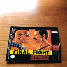 Coleccionismo Cromos antiguos: FICHA CROMO MATUTANO SUPER NINTENDO FINAL FIGHT N° 39. Lote 175327533