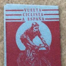 Coleccionismo Cromos antiguos: SOBRE DE CROMOS ÁLBUM VUELTA CICLISTA A ESPAÑA - EDICIONES SURESTE (MURCIA). Lote 175463604