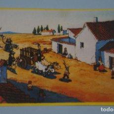 Coleccionismo Cromos antiguos: CROMO DE DON QUIJOTE DE LA MANCHA SIN PEGAR Nº 91 AÑO 1979 DEL ALBUM DON QUIJOTE...... DE DANONE. Lote 245094265