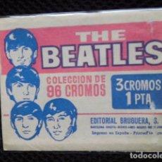 Coleccionismo Cromos antiguos: LOS BEATLES SOBRE CROMOS CERRADO ORIGINAL ESPAÑA 1965 EDITORIAL BRUGUERA RAREZA. Lote 209923960