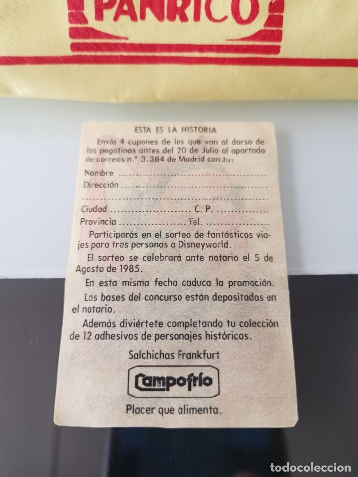 Coleccionismo Cromos antiguos: CROMO CAMPOFRÍO SALCHICHAS FRANKFURT PROMO VIAJE A DISNEYWORLD - TATA MORGANA - Foto 2 - 176350419