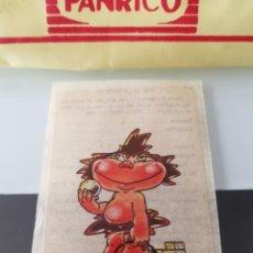 Coleccionismo Cromos antiguos: CROMO CAMPOFRÍO SALCHICHAS FRANKFURT PROMO VIAJE A DISNEYWORLD - TROGLODITÍN. Lote 176350433