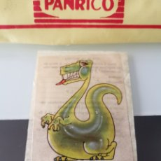 Coleccionismo Cromos antiguos: CROMO CAMPOFRÍO SALCHICHAS FRANKFURT PROMO VIAJE A DISNEYWORLD - BRONTO. Lote 176350443
