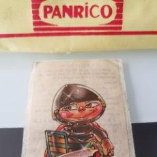 Coleccionismo Cromos antiguos: CROMO CAMPOFRÍO SALCHICHAS FRANKFURT PROMO VIAJE A DISNEYWORLD - VALIENTE. Lote 176350462