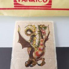 Coleccionismo Cromos antiguos: CROMO CAMPOFRÍO SALCHICHAS FRANKFURT PROMO VIAJE A DISNEYWORLD - TRAGÓN. Lote 176350482