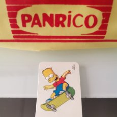 Coleccionismo Cromos antiguos: CROMO RELIEVE JUMPERS THE SIMPSONS. Lote 176416890