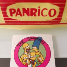 Coleccionismo Cromos antiguos: CROMO RELIEVE JUMPERS THE SIMPSONS. Lote 176416955