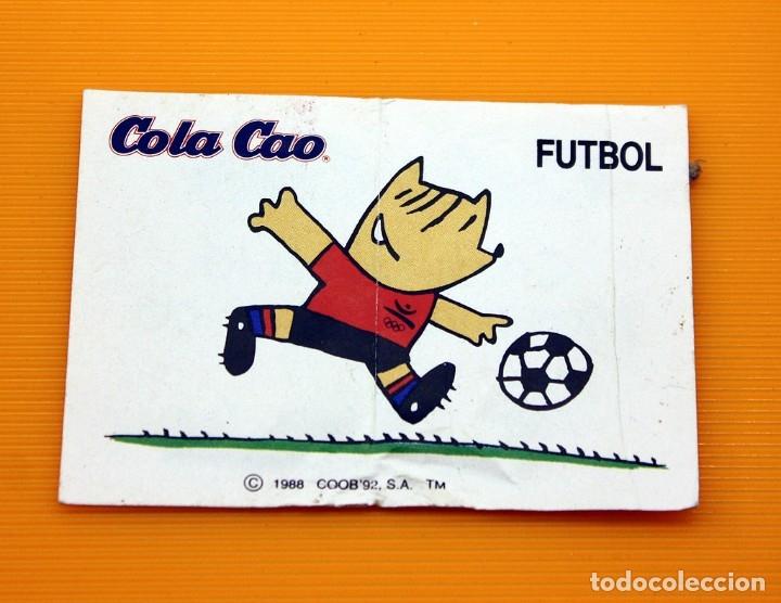 COLA CAO - COBI - MASCOTA OLIMPICA - 1988 - NUNCA PEGADO, CON TRASERA - COLACAO (Coleccionismo - Cromos y Álbumes - Cromos Antiguos)