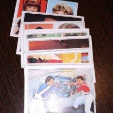 Coleccionismo Cromos antiguos: LOTE 11 CROMOS TELE POP. SUPERCROMOS DE FABULA. EDICIONES ESTE. VER NÚMEROS EN DESCRIPCIÓN. . Lote 176854888