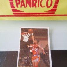 Coleccionismo Cromos antiguos: CROMO PANRICO BOLLYCAO BASKET CROMOS 88 89 BALONCESTO - Nº 126. Lote 177015803