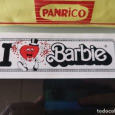 Coleccionismo Cromos antiguos: PEGATINA CROMO MATTEL BARBIE VINTAGE I LOVE BARBIE. Lote 177017754