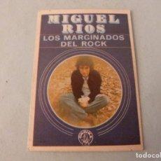 Coleccionismo Cromos antiguos: CROMO DE MIGUEL RIOS SIN PEGAR Nº 118 AÑO 1982 DEL ALBUM SHOW DE ESTRELLAS DE MAGA. Lote 245949425