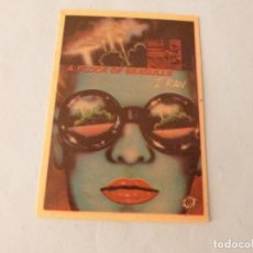 Coleccionismo Cromos antiguos: CROMO DE A FLOCK OF SEAGULS SIN PEGAR Nº 127 AÑO 1982 DEL ALBUM SHOW DE ESTRELLAS DE MAGA. Lote 245949395