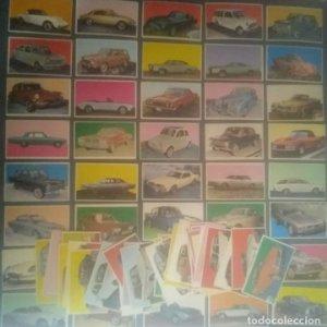 80 Cromos del album de cromos antiguos Auto 1967
