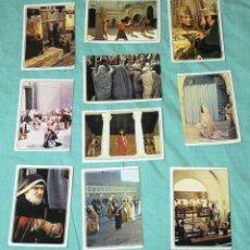 Coleccionismo Cromos antiguos: 10 CROMOS DEL ALBUM JESUS - PANINI 1977.. Lote 178318327