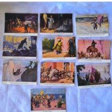Coleccionismo Cromos antiguos: CROMO - LOTE 10 CROMOS - PREMIO JARABE DESCHIENS. Lote 178685873