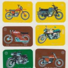 Coleccionismo Cromos antiguos: LOTE 7 CROMOS Nº 8-12-14-21-22-25-30 MOTOS MODERNAS DE CROPAN. Lote 178732806