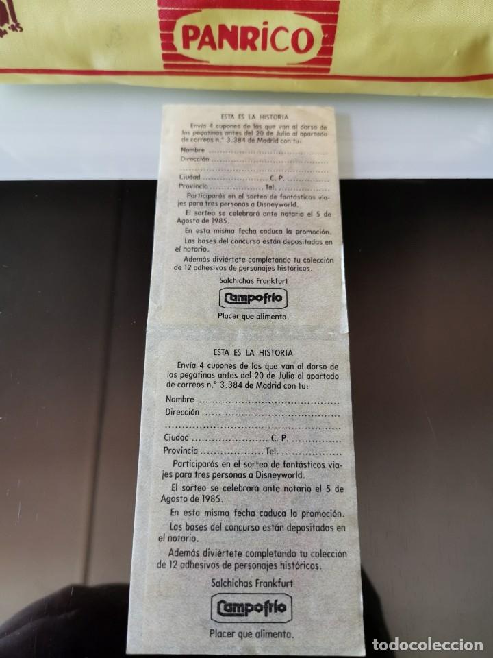 Coleccionismo Cromos antiguos: CROMOS CAMPOFRÍO SALCHICHAS FRANKFURT PROMO VIAJE A DISNEYWORLD TROGLODITOS - Foto 2 - 178830668