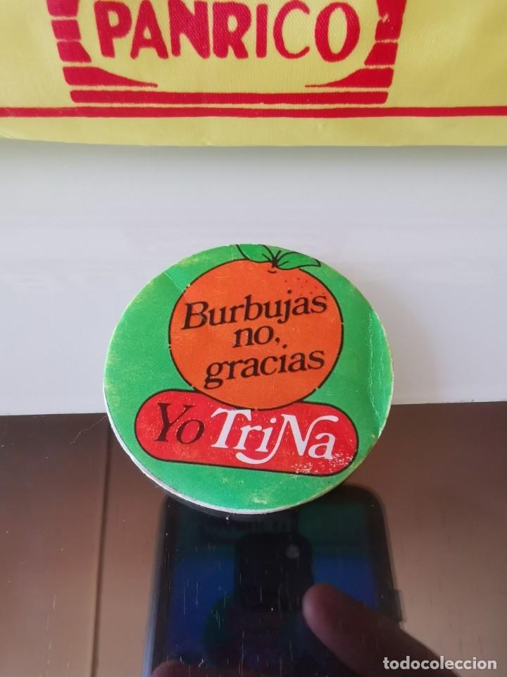 CROMO ACOLCHADO TRINA TRINARANJUS BURBUJAS NO GRACIAS (Coleccionismo - Cromos y Álbumes - Cromos Antiguos)