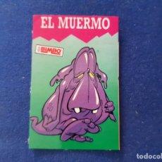 Coleccionismo Cromos antiguos: PEGATINA ADHESIVO BIMBO MONSTRUO EL MUERMO. Lote 179004476