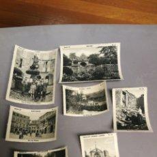 Coleccionismo Cromos antiguos: 7 CROMOS SERIE 27 LAS BELLEZAS DE GALICIA ALBUM COLECCION ESPAÑA TURISTICA FUENTES TIPICAS. Lote 179022623