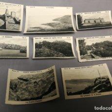 Coleccionismo Cromos antiguos: 8 CROMOS SERIE 39 LAS BELLEZAS DE GALICIA ALBUM COLECCION ESPAÑA TURISTICA LA GUARDIA SANTA TECLA. Lote 179044428