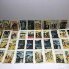 Coleccionismo Cromos antiguos: 39 CROMOS ANTIGUOS - EL FARO ELECTRICO - CHOCOLATES GUILLÉN - BARCELONA. Lote 179137591
