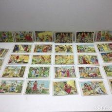 Coleccionismo Cromos antiguos: 29 CROMOS ANTIGUOS - QUO VADIS ...? - FÁBRICAS EN BARCELONA Y BAÑOLAS - CHOCOLATES AMATLLER. Lote 179139158