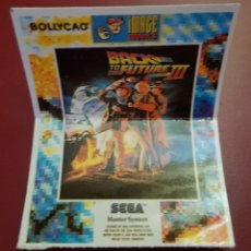 Coleccionismo Cromos antiguos: BOLLYCAO - SEGA - BACK TO THE FUTURE III. Lote 179241973