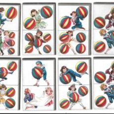 Coleccionismo Cromos antiguos: CR-284. LOTE DE 15 CROMOS CHOCOLATE ANGELICAL. DOMINO. . Lote 179248290