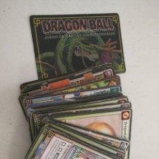 Coleccionismo Cromos antiguos: GRAN MAZO TACO CARTAS DRAGON BALL TRADING CARDS - VER TODAS LAS FOTOS. Lote 179321037