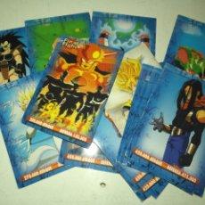 Coleccionismo Cromos antiguos: GRAN MAZO TACO CARTAS DRAGON BALL TRADING CARDS - VER TODAS LAS FOTOS. Lote 179322176