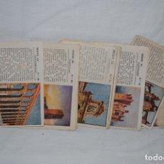 Coleccionismo Cromos antiguos: CROMOS, MONUMENTOS Y CASTILLOS. Lote 179538267