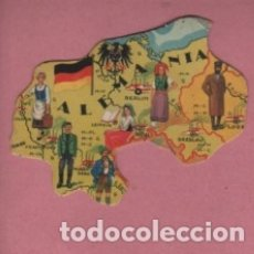Coleccionismo Cromos antiguos: CROMOS CHOCOLATES JAUME BOIX - MAPA D EUROPA TROQUELADO PEDIR FALTAS. Lote 179957240