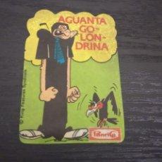 Coleccionismo Cromos antiguos: -PANRICO AGUANTA GOLONDRINA . POPEYE ?. Lote 180136268