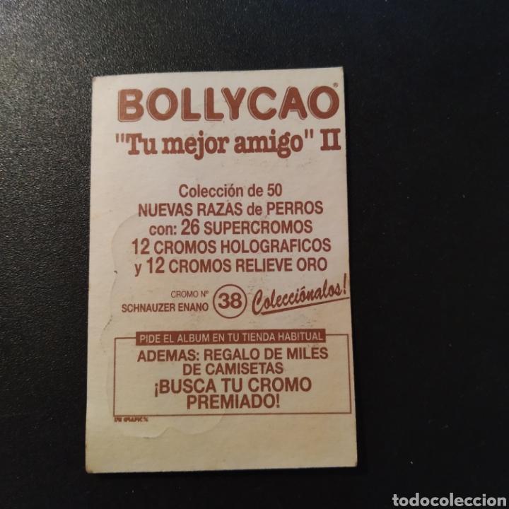 Coleccionismo Cromos antiguos: CROMO- TU MEJOR AMIGO II - N° 38 SHNAUZER ENANO - BOLLYCAO - AÑO 1995 - ENVIÓ GRATIS A PARTIR DE 35€ - Foto 2 - 180289985
