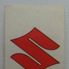 Coleccionismo Cromos antiguos: CROMO DIDEC Nº 210 SUZUKI. Lote 180297103