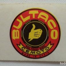 Coleccionismo Cromos antiguos: CROMO DIDEC Nº 195 BULTACO. Lote 180297711