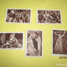 Coleccionismo Cromos antiguos: ANTIGUO LOTE DE 5 CROMOS EL SIGNO DE LA CRUZ *LA CAMPANA* DE ALCOY. Lote 180402728