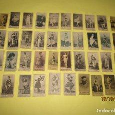 Coleccionismo Cromos antiguos: ANTIGUAS 40 FOTOTÍPIAS FOTOGRAFÍAS DE EL TELÉGRAFO DE LA FÁBRICA NACIONAL DE TABACOS AÑO 1900-20. Lote 180424823
