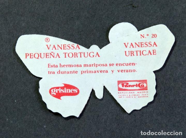 Coleccionismo Cromos antiguos: Cromo álbum Mariposas Panrico nº 20 Vanesa Urticae - Foto 2 - 180477576