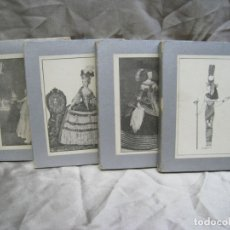 Coleccionismo Cromos antiguos: TRAJE HISTORICO FEMENINO. ED. MARTI. 1940. COLECCION 84 CROMOS-TARJETAS COMPLETA. Lote 180858210