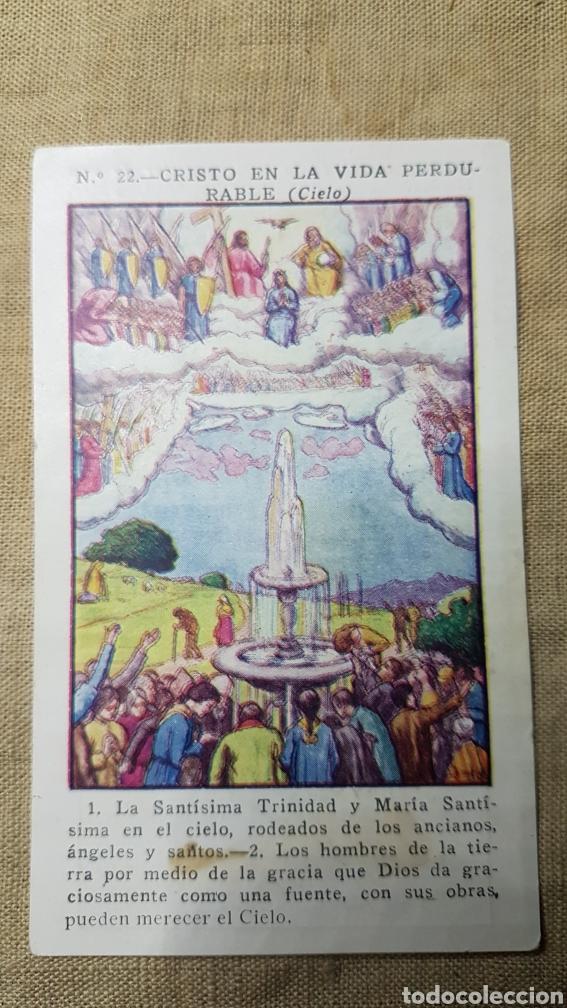 CROMO RELIGIOSO 22 CHOCOLATE AMATLLER (Coleccionismo - Cromos y Álbumes - Cromos Antiguos)