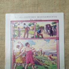 Coleccionismo Cromos antiguos: CROMO RELIGIOSO 40 CHOCOLATE AMATLLER. Lote 180893875