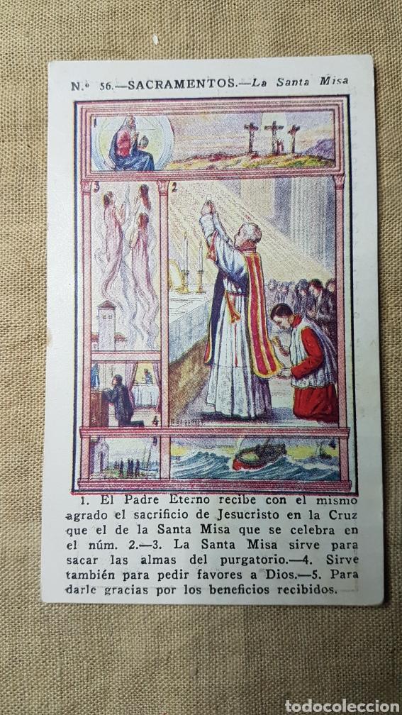 CROMO RELIGIOSO 56 CHOCOLATE AMATLLER (Coleccionismo - Cromos y Álbumes - Cromos Antiguos)