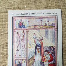 Coleccionismo Cromos antiguos: CROMO RELIGIOSO 56 CHOCOLATE AMATLLER. Lote 180894085